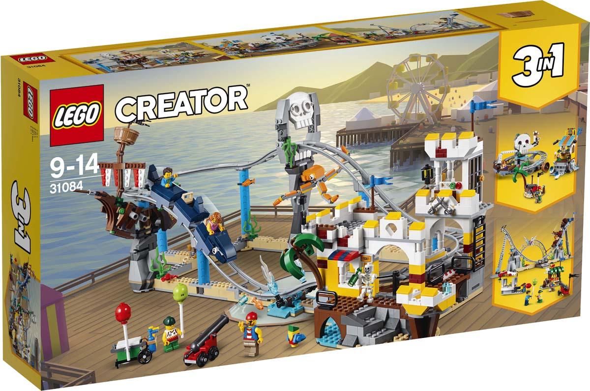 Конструктор LEGO Creator Пиратские горки. 31084 lego creator 31040 гонки в пустыне