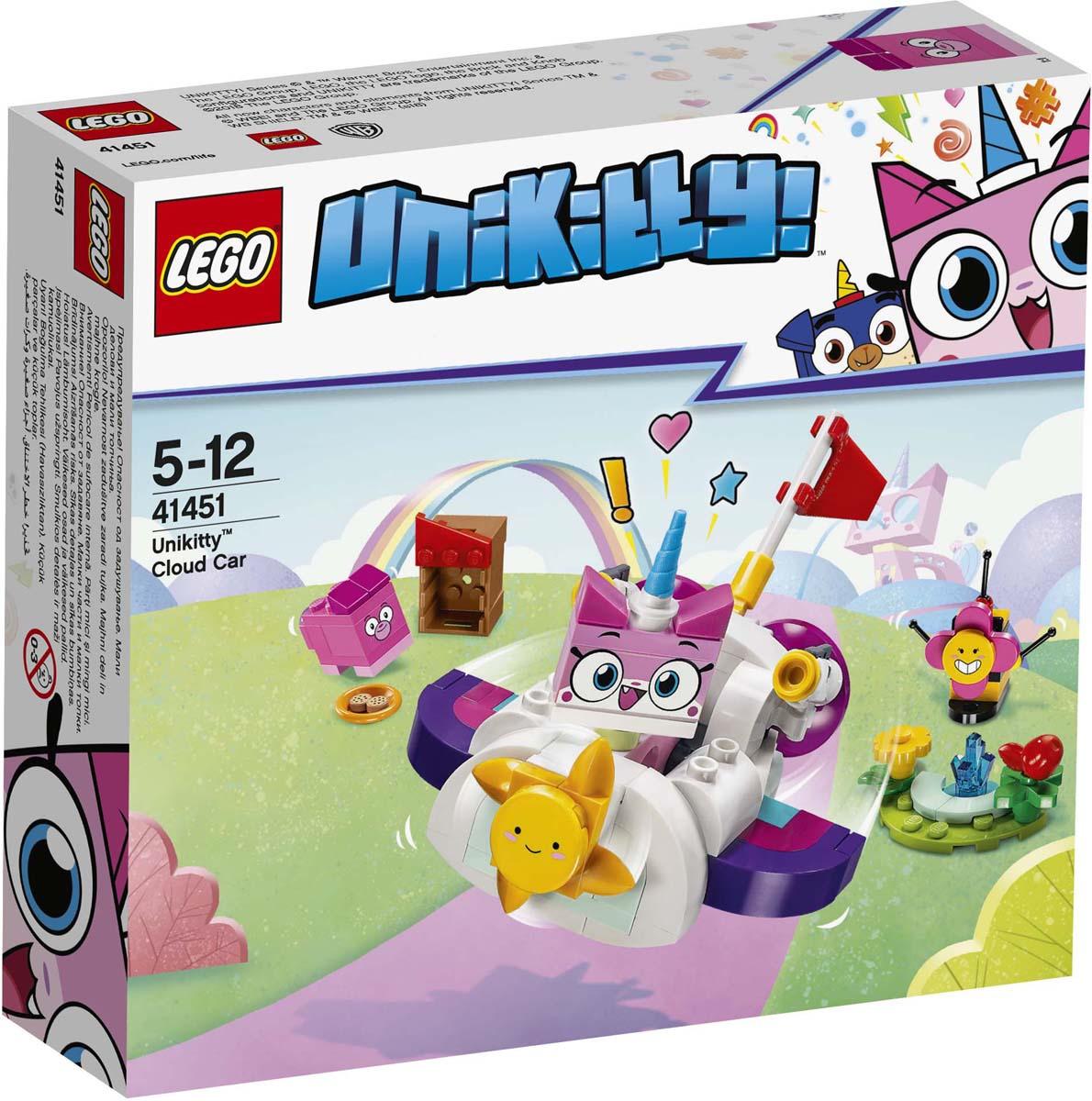 Конструктор LEGO Unikitty Машина-облако. 41451 lego животные в парке 31044