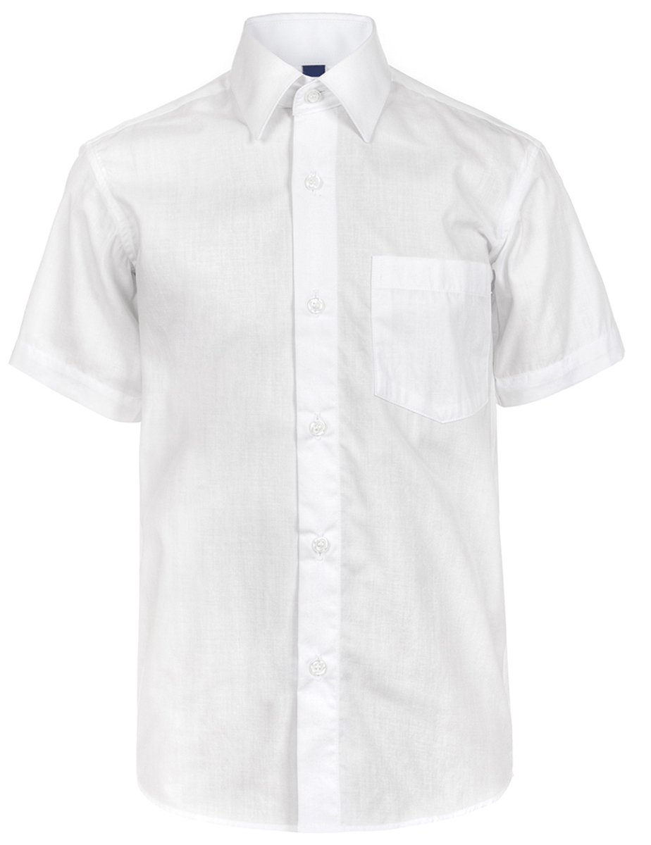 Рубашка для мальчика Brostem, цвет: белый. 019ds_1. Размер 122/128