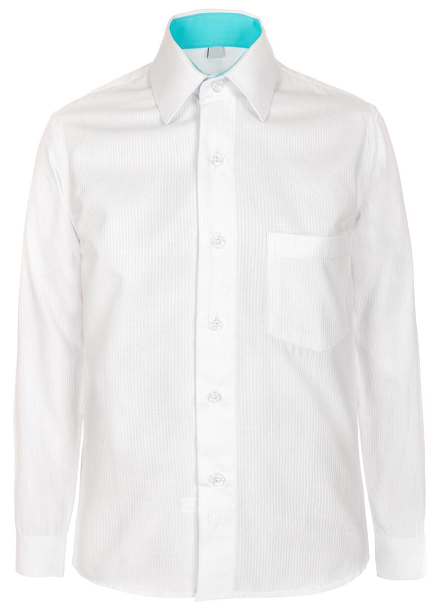 Рубашка для мальчика Brostem, цвет: белый. 6044D28_1. Размер 158/164