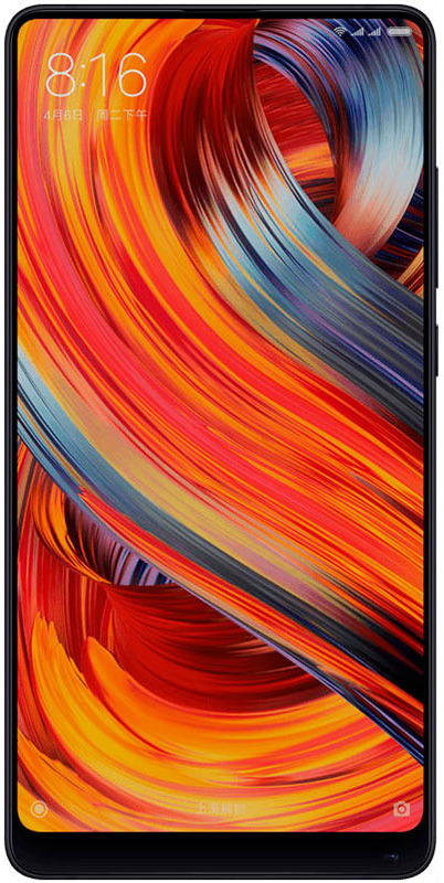 Xiaomi Mi Mix 2S (64GB), Black package xiaomi mi 5s 3gb 64gb smartphone gold