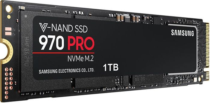 Samsung 970 PRO PCI-E x4 1Tb SSD-накопитель (MZ-V7P1T0BW) cy sa 144 express pci e to 2013 apple macbook pro air ssd convert card for a1493 a1502 more