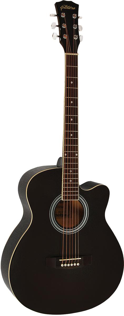 Elitaro E4010C, Black акустическая гитара акустическая гитара 40 41 jita