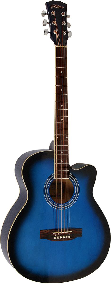 Elitaro E4010C, Blue акустическая гитара