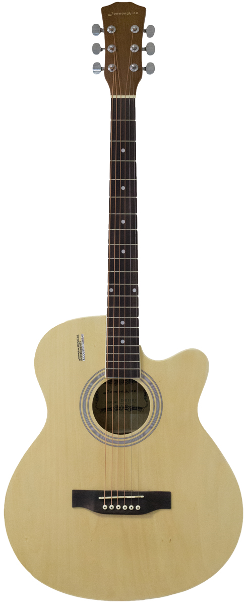 Jonson&Co E4011C, Beige акустическая гитара