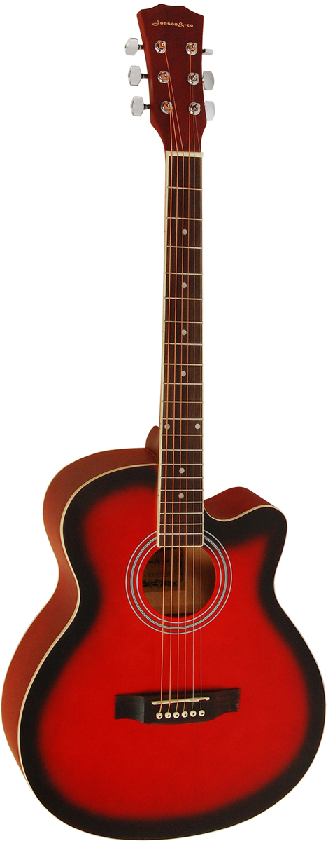 Jonson&Co E4011C, Red акустическая гитара