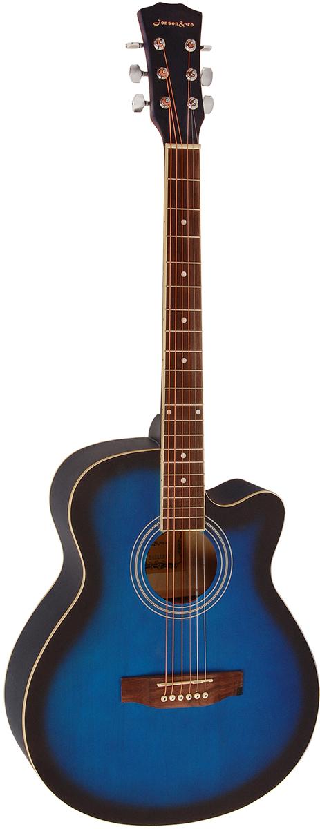 Jonson&Co E4011C, Blue акустическая гитара акустическая гитара 40 41 jita