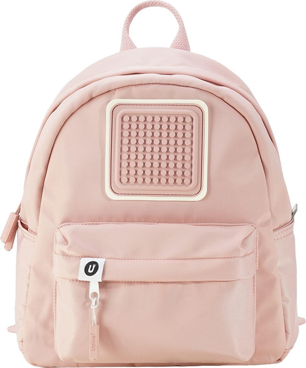 Upixel Детский рюкзак Funny Square цвет светло-розовый размер