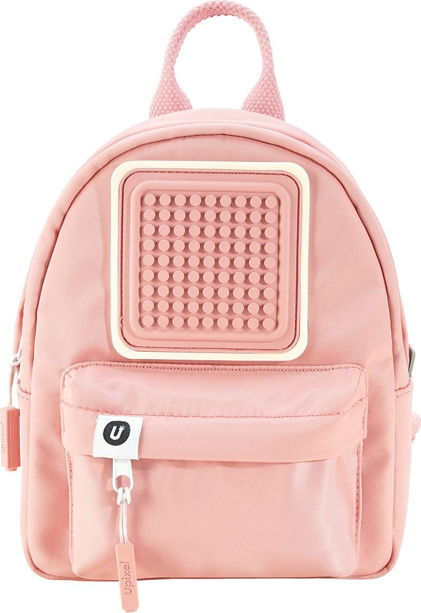 Upixel Детский рюкзак Funny Square цвет светло-розовый размер XS