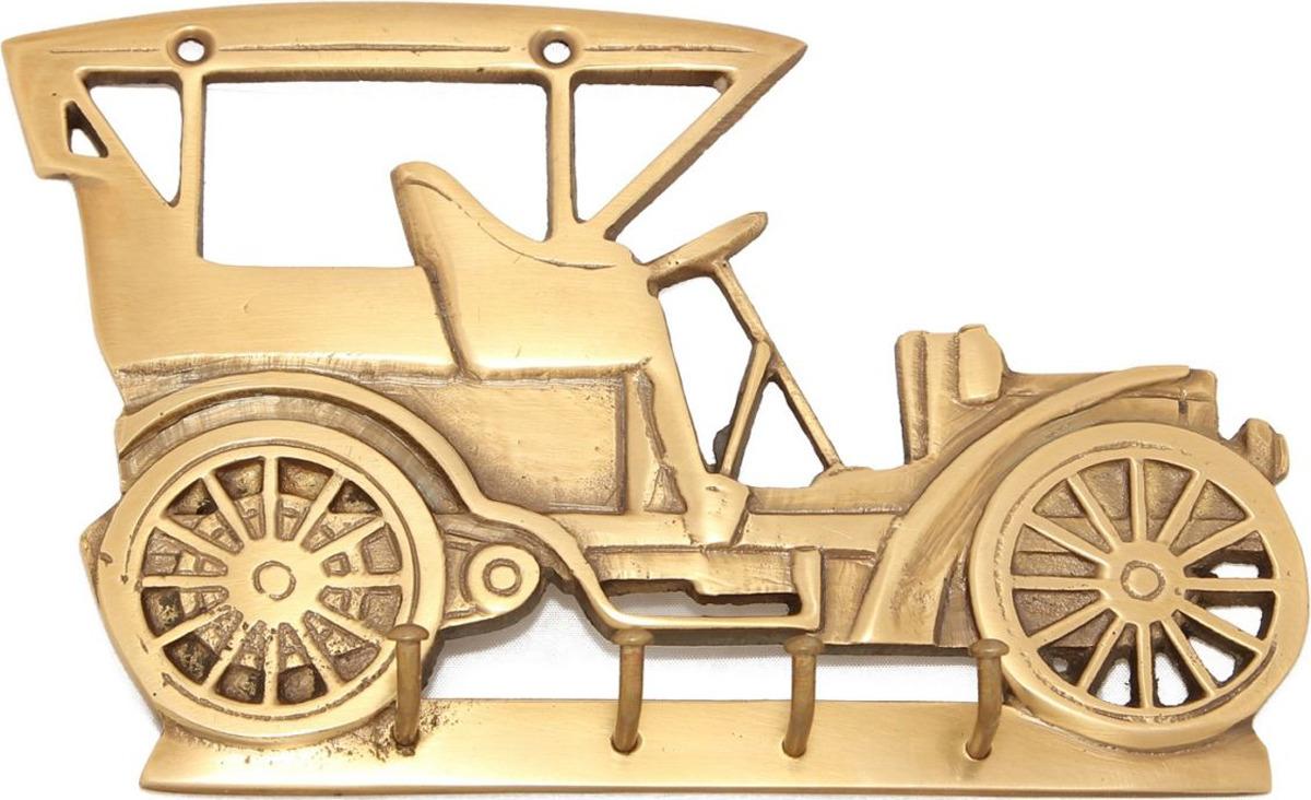 Вешалка Ethnic Chic Авто ретро, 4 крючка, цвет: бронзовый
