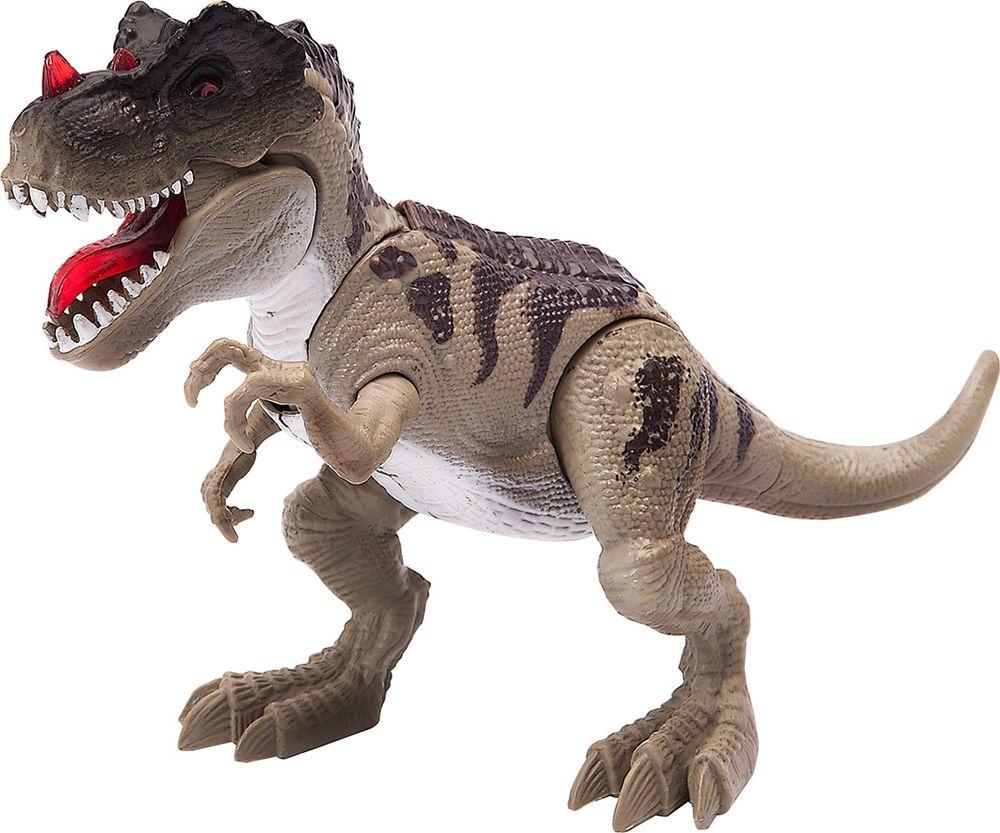 Chap Mei Игровой набор Подвижная фигура Тираннозавр игровые наборы chap mei игровой набор динозавр трицератопс и охотник на вертолете стрельба