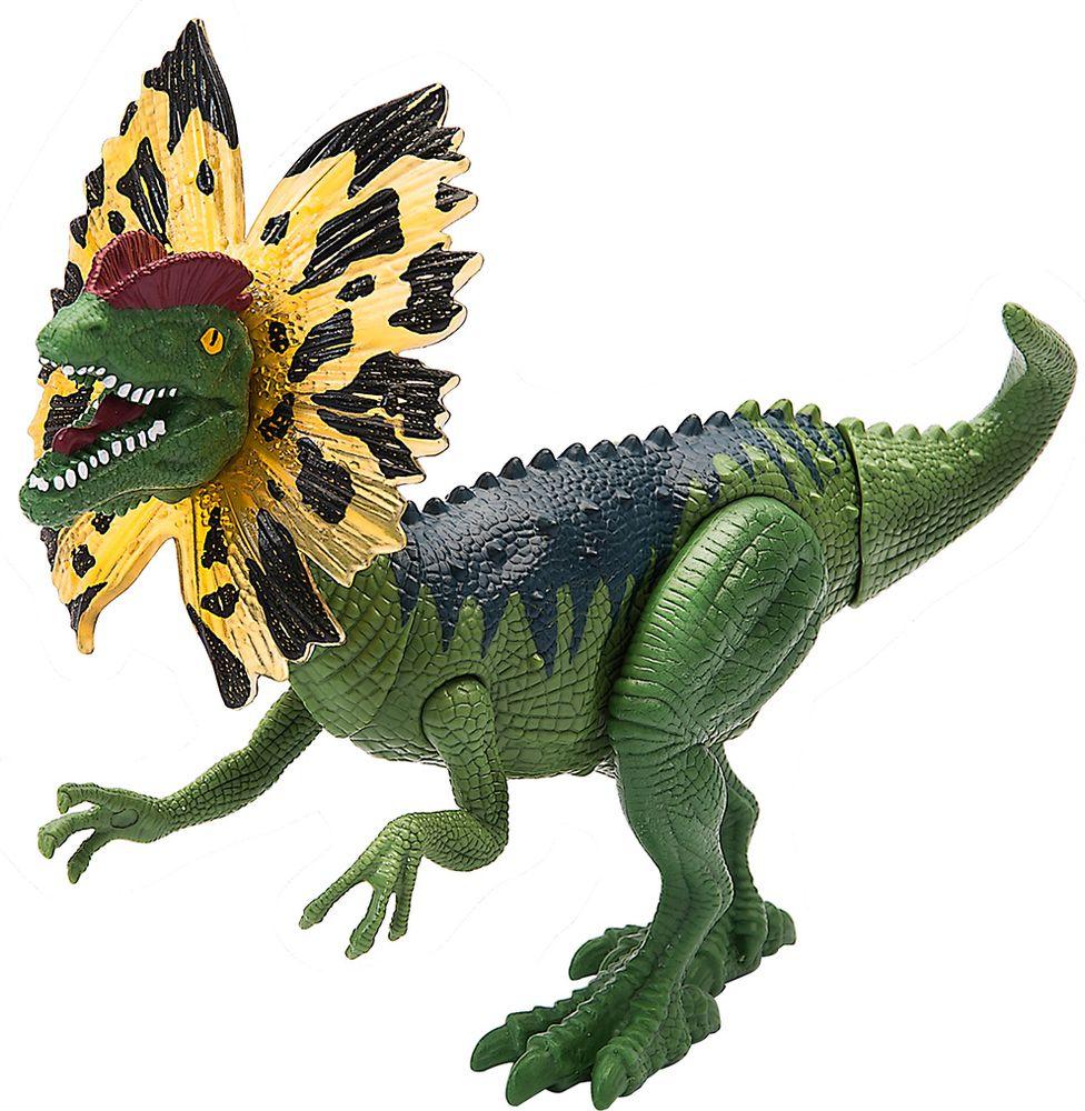 Chap Mei Игровой набор Подвижная фигура Дилофозавр игровые наборы chap mei игровой набор динозавр эораптор и кинооператор