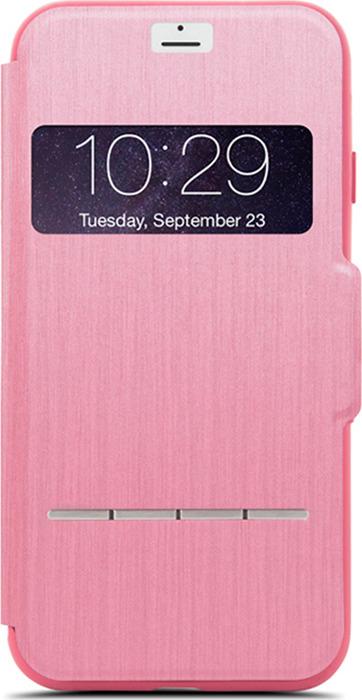 Moshi SenseCover чехолдля AppleiPhone 7/8, Rose Pink чехол для iphone moshi sensecover steel black 99mo072004
