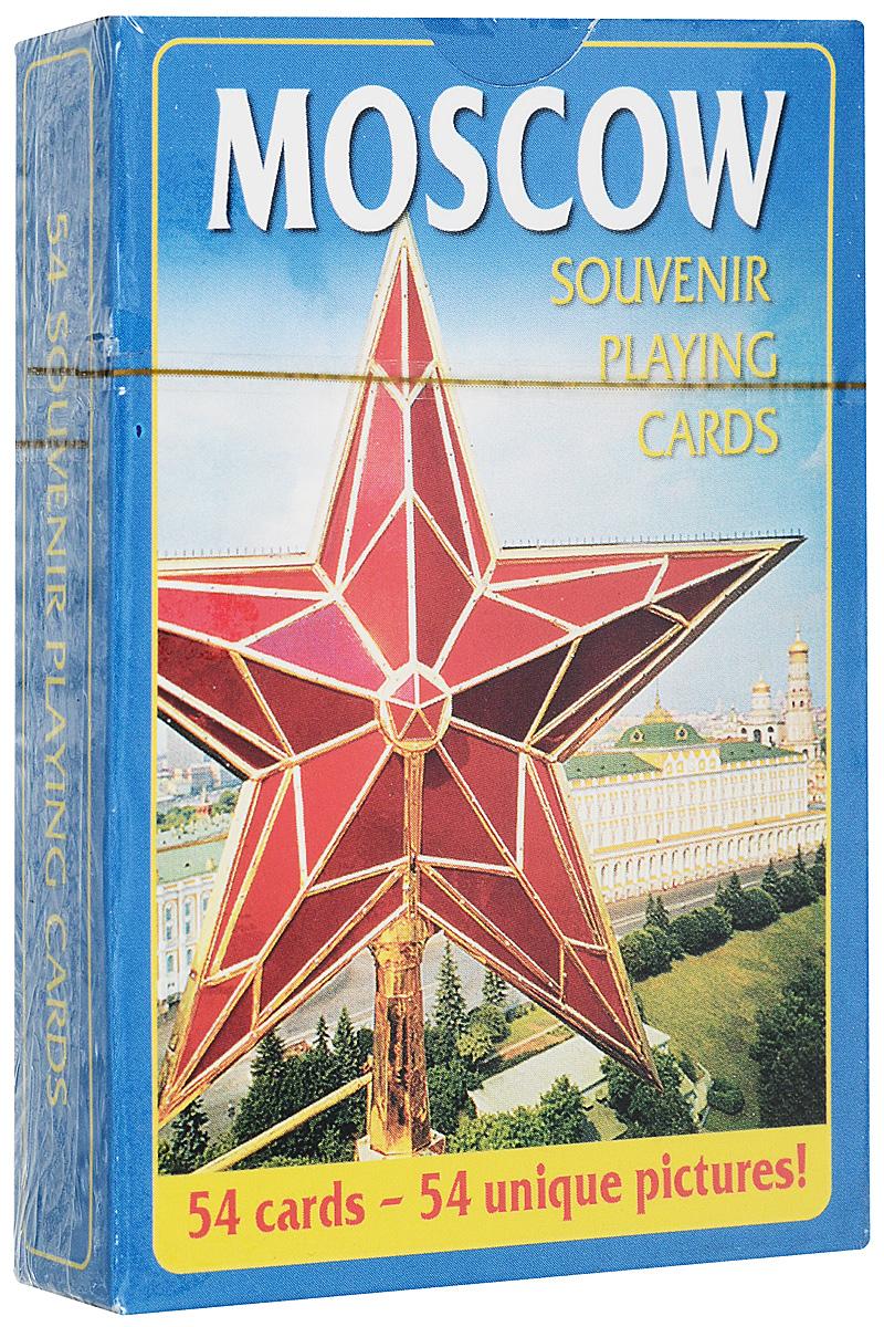 Игральные карты. Москва. Звезда коллекционные игральные карты спичечные коробки 54 листа