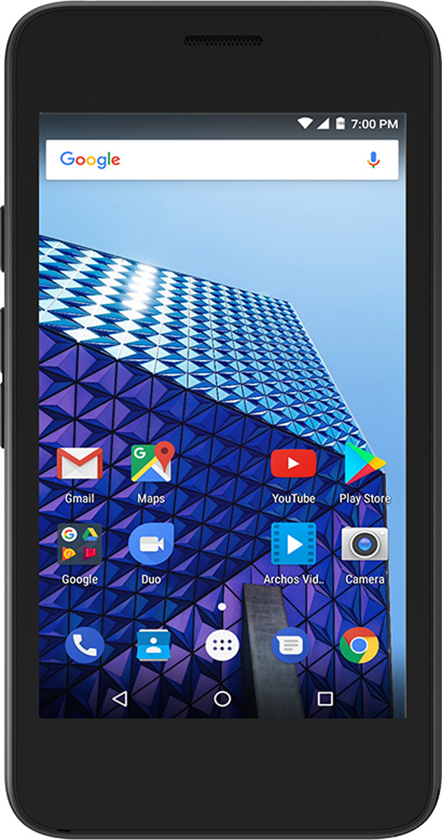 Archos Access 45 4G 1+8GB, Black archos 50 helium plus dual sim lte black