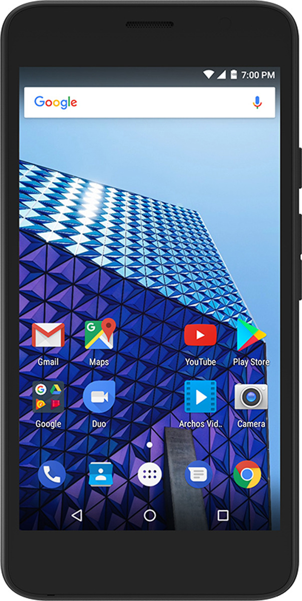 Archos Access 50 3G 1+8GB, Black archos 101d neon 8gb