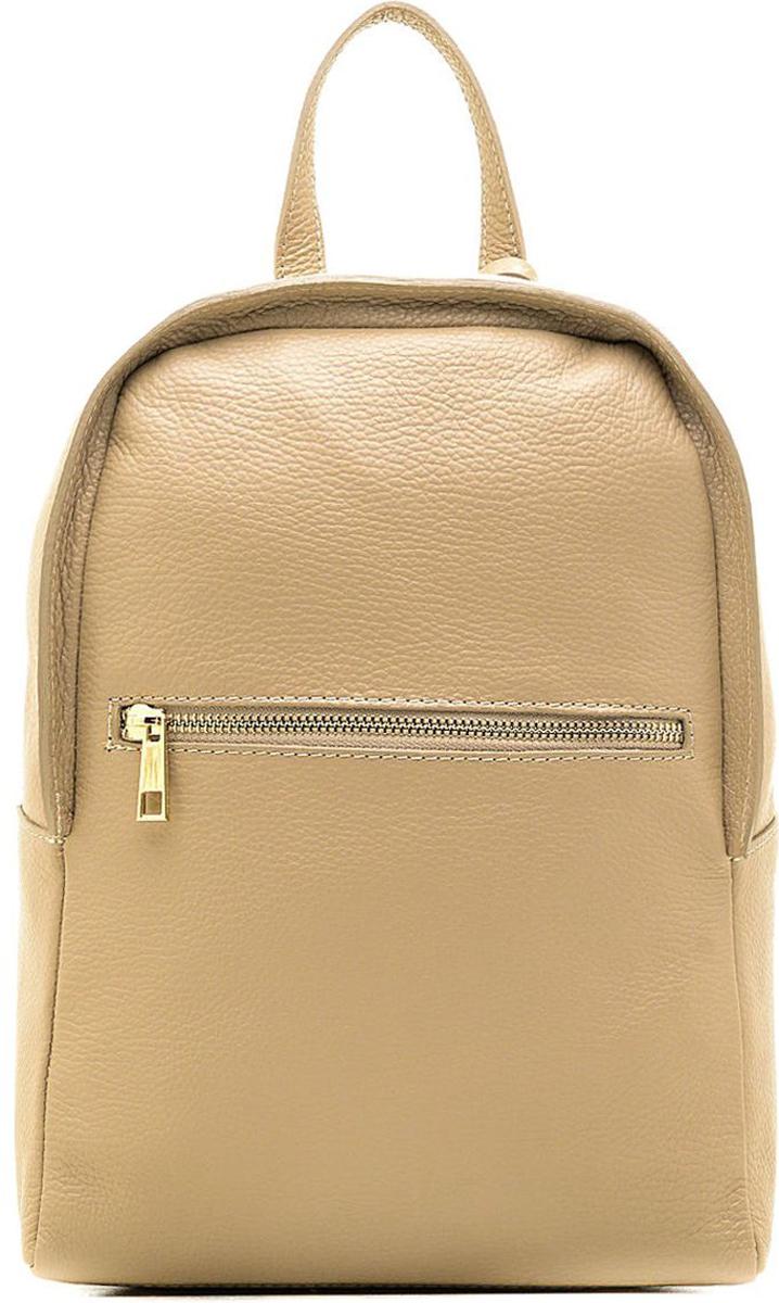 Рюкзак женский Edmins, цвет: светло-коричневый. 5817 ED l.taupe обложка для паспорта edmins цвет коричневый 13843 1n sof ed