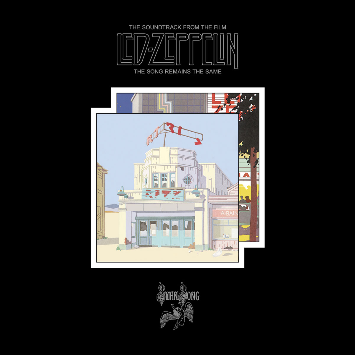 Led Zeppelin Led Zeppelin. The Song Remains The Same (4 LP + 2 CD + 3 DVD) саундтрек саундтрек fifty shades darker 2 lp