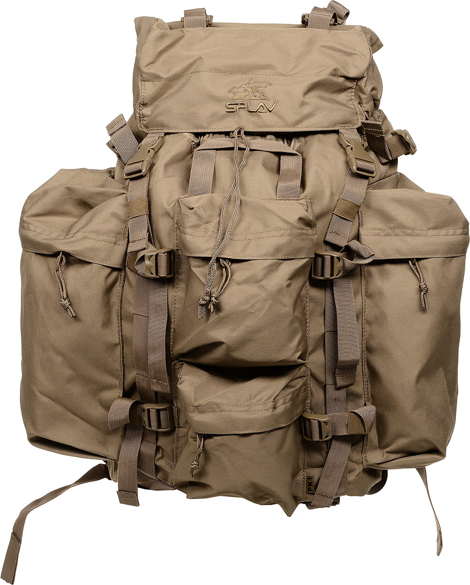 Рюкзак туристический Сплав, цвет: хаки, 43 л. 5022425 рюкзак туристический cups 65 л
