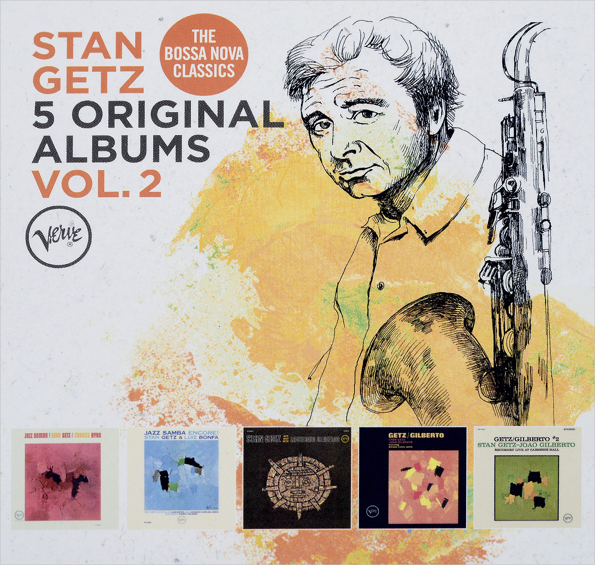 Стэн Гетц Stan Getz. Original Albums Vol.2 (5 CD) цена