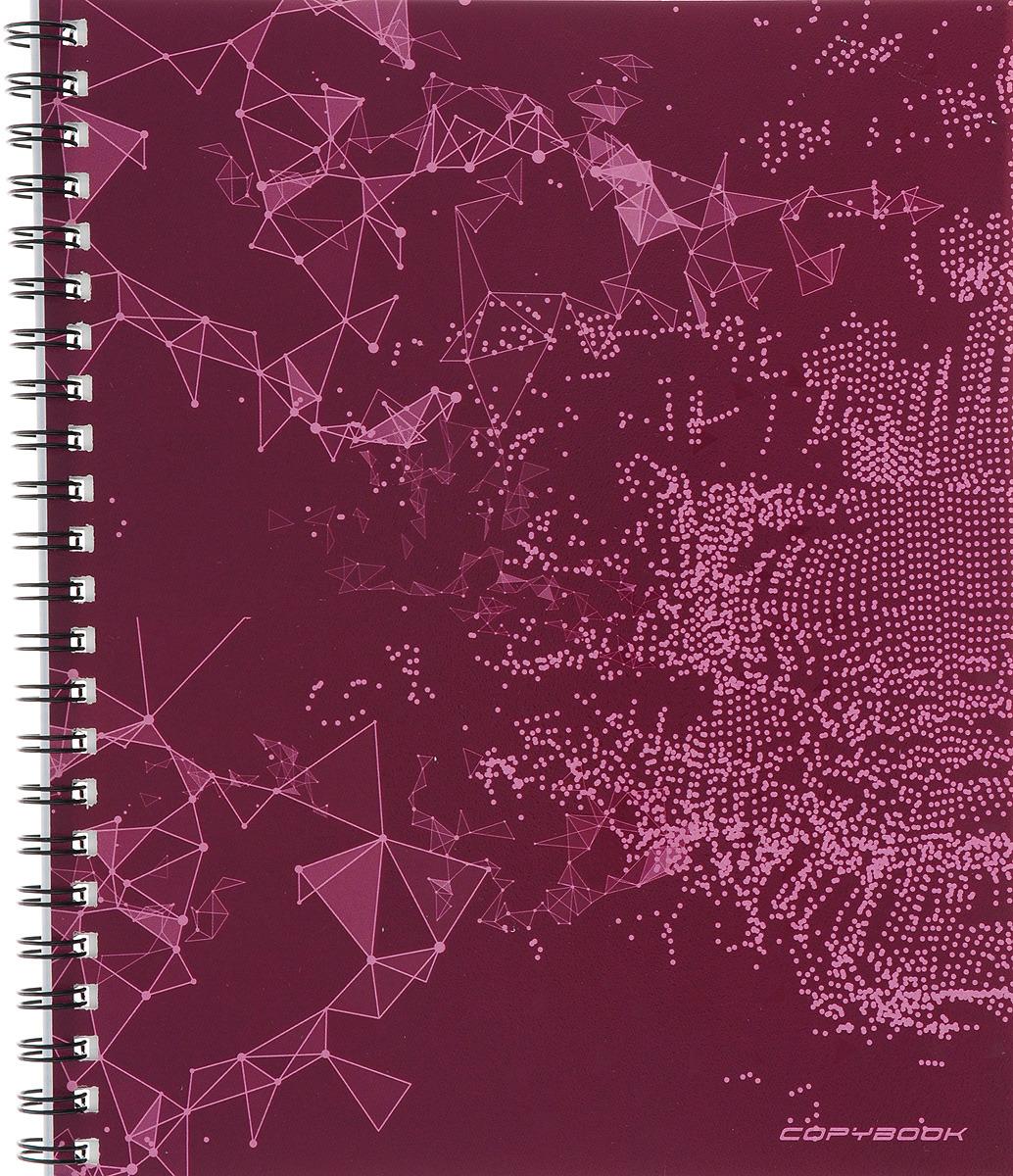 Unnika Land Тетрадь Радиоволна 48 листов в клетку цвет бордовый ктс про набор тетрадей вид из окна 48 листов в клетку цвет бордовый 5 шт