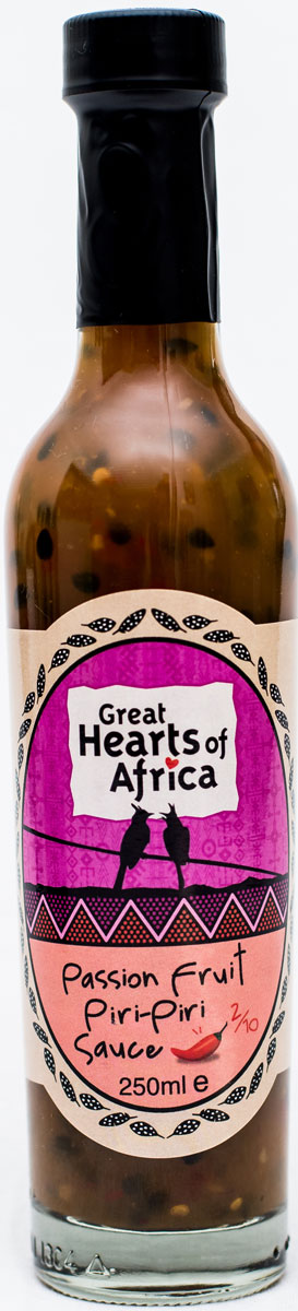 Соус с маракуйей и перцем пири-пири, острота 2/10 Great Hearts of Africa, 250 мл sturman f36050 m