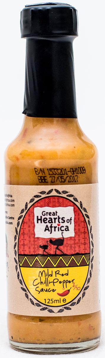 все цены на Соус нежный с красным перцем чили, острота 2/10 Great Hearts of Africa, 250 мл онлайн