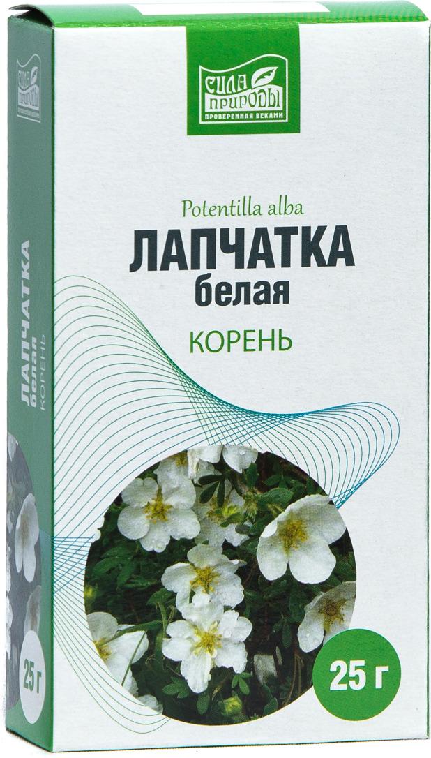 Травяной сбор Лапчатка белая корень Сила природы, 25 г лекарство для щитовидной железы