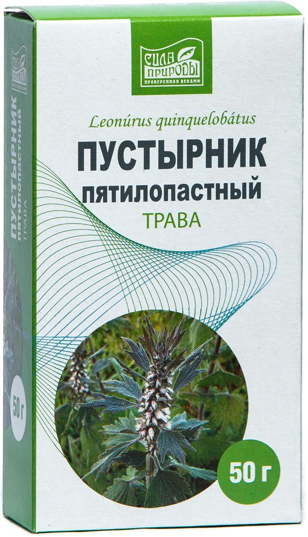Травяной сбор Пустырник трава Сила природы, 50 г