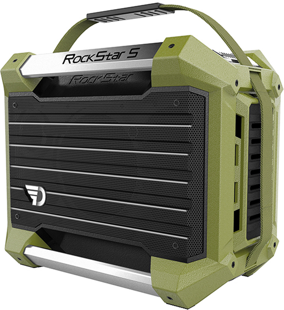 Bluetooth-аудиосистема DreamWave RockStar S, Green