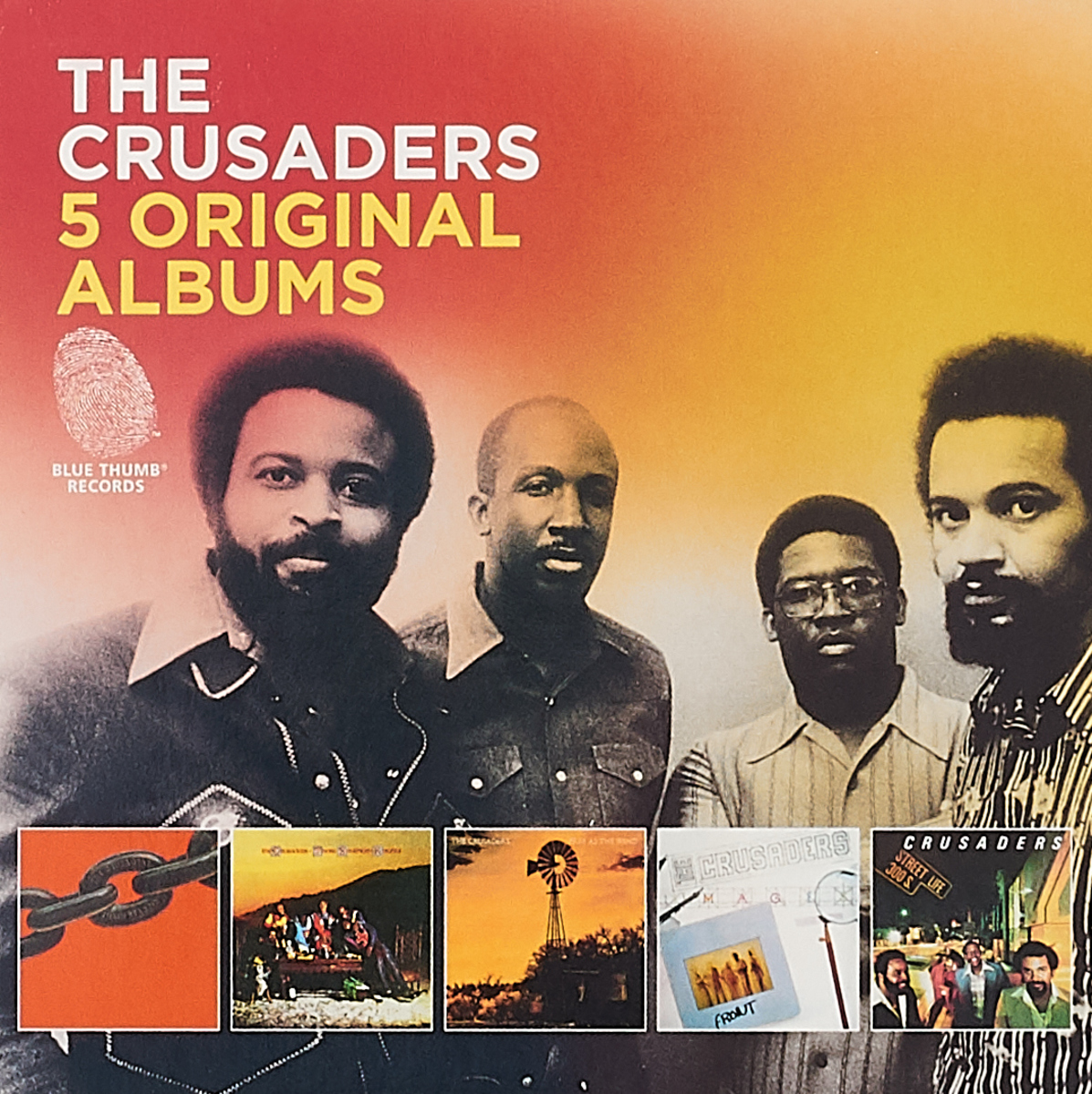 The Crusaders The Crusaders. Original Albums (5 CD) roxy music roxy music the studio albums limited edition 8 lp