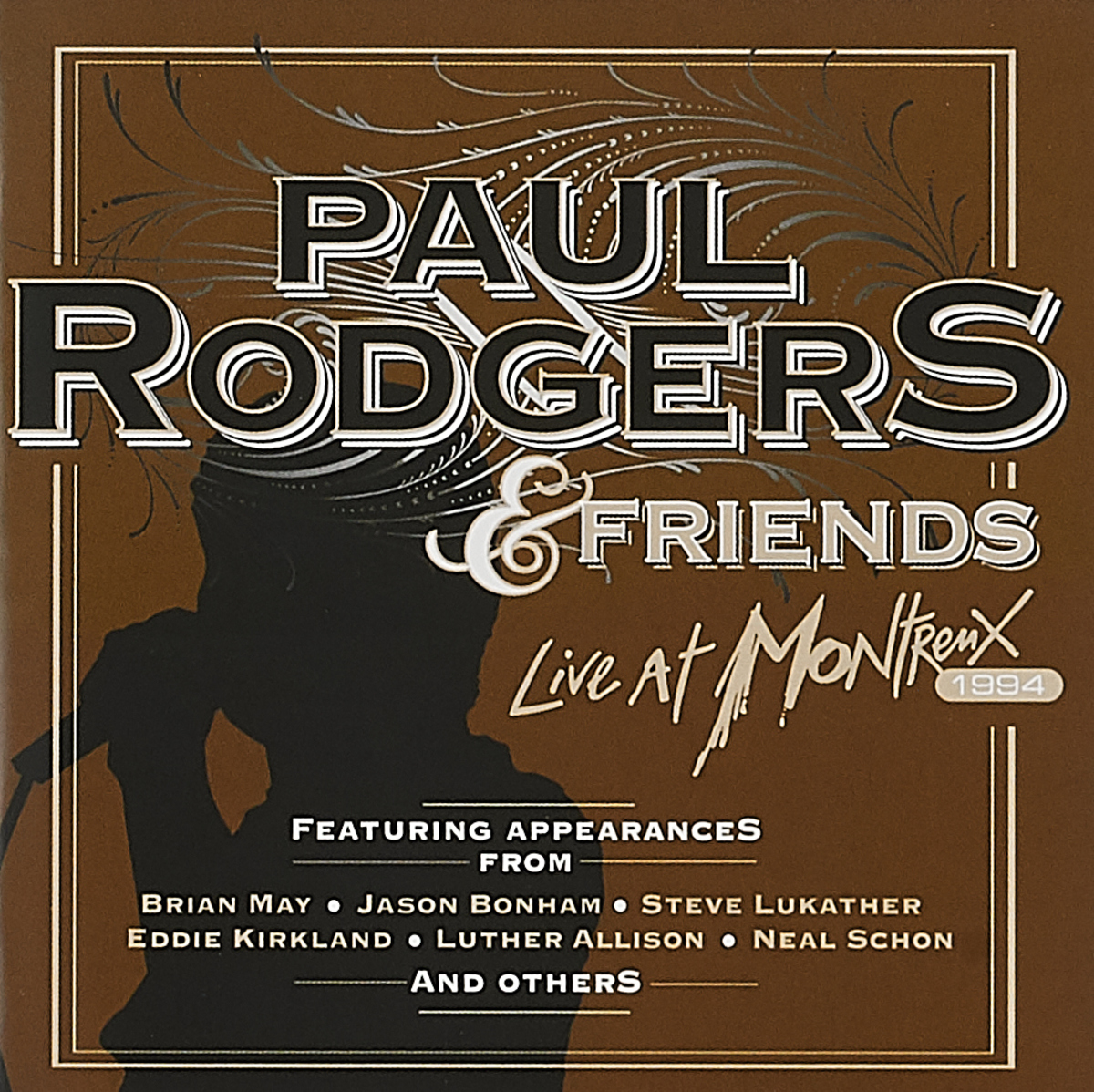 Пол Роджерс Paul Rodgers. Live At Montreux (CD + DVD) montreux jazz festival dvd rom