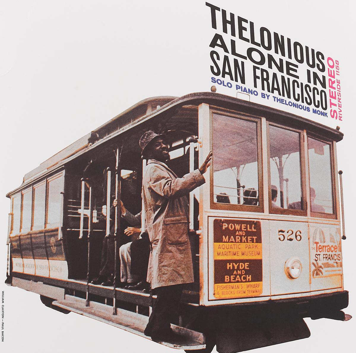 Телониус Монк Thelonious Monk. Alone In San Francisco (LP) the thelonious monk orchestra the thelonious monk orchestra at town hall lp
