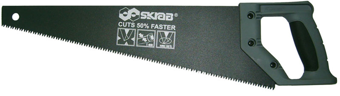 Ножовка по дереву Skrab, тройная заточка, 400 мм ножовка по дереву 500 мм россия 23164