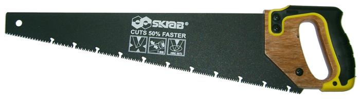 Ножовка по сырой древесине Skrab, 450 мм угольник skrab 40341