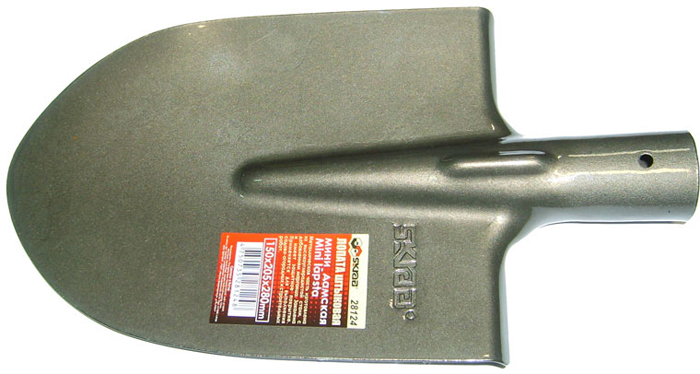 Лопата штыковая Skrab, без черенка, 15 х 20,5 х 28 см лопата skrab 28110