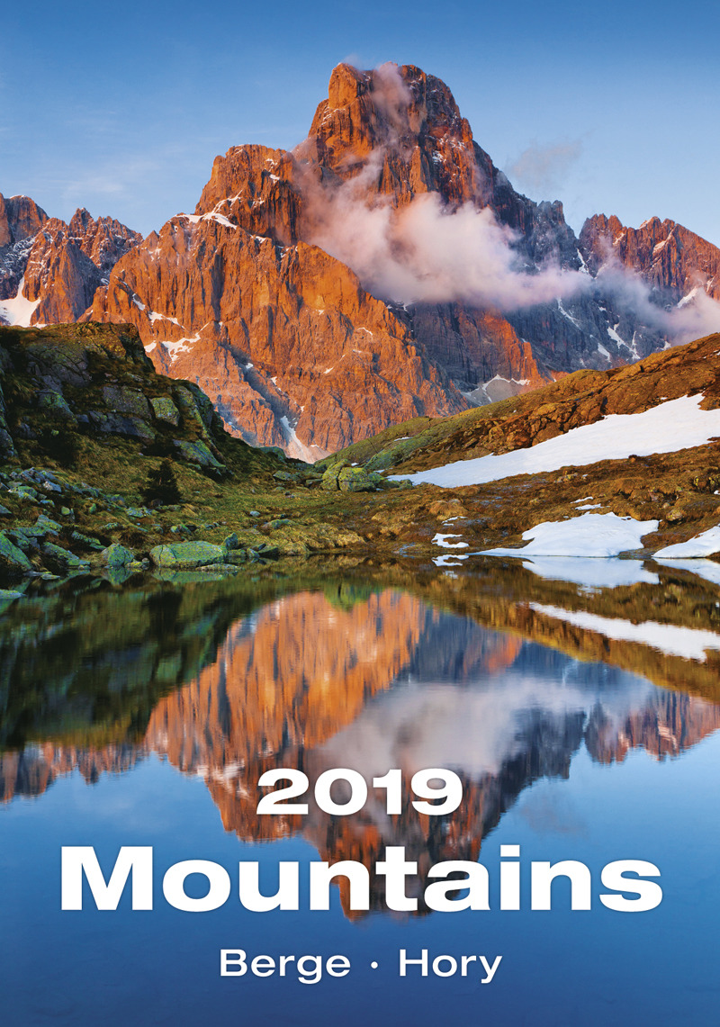 Календарь 2019. Mountains / Горы зина сурова филипп суров мир в деталях календарь искалка 2019