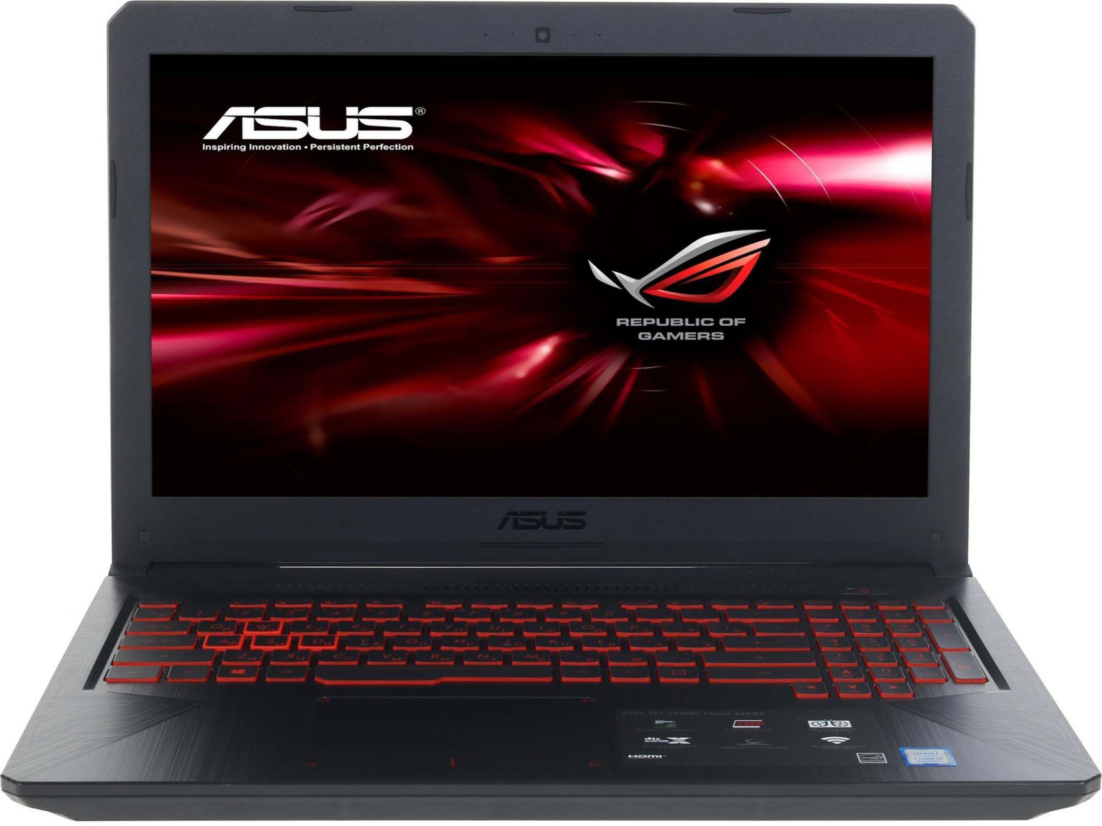 Ноутбук ASUS FX504GD-E4069T, Metal vr360 panoramic camera wi fi remote control sports action camera