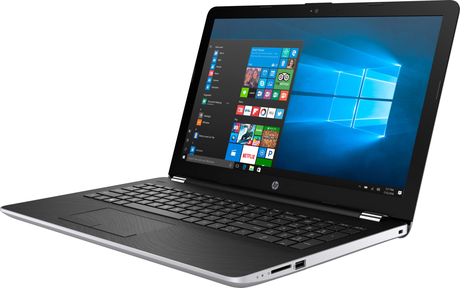 Ноутбук HP 15-bw061ur, Silver цена 2017