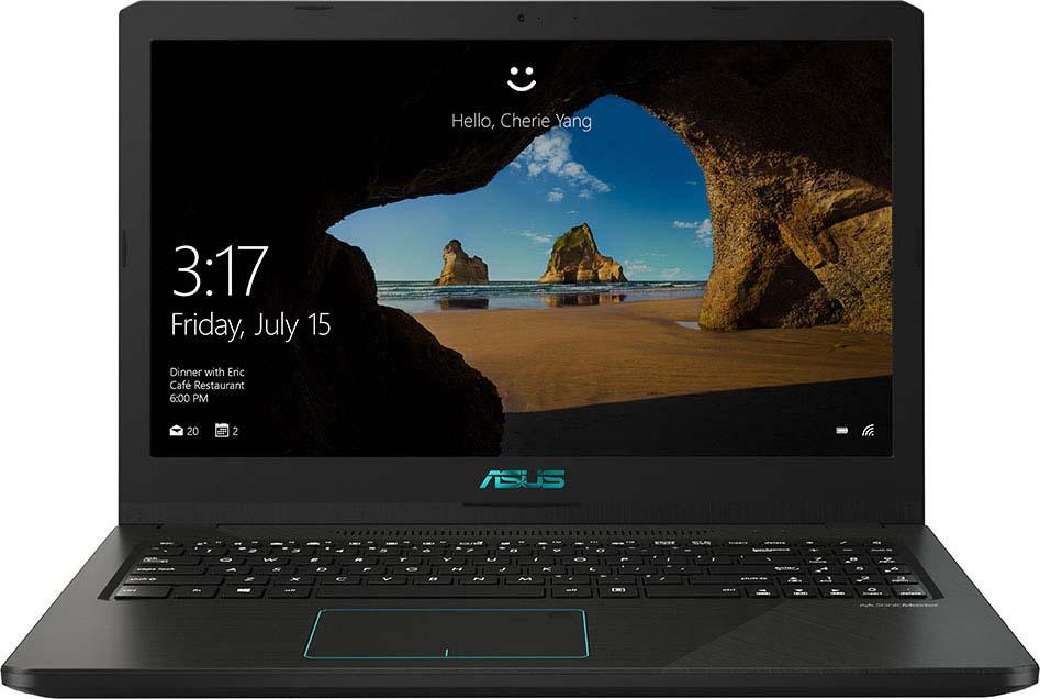 Ноутбук ASUS X570UD-E4021T, Black no spots black