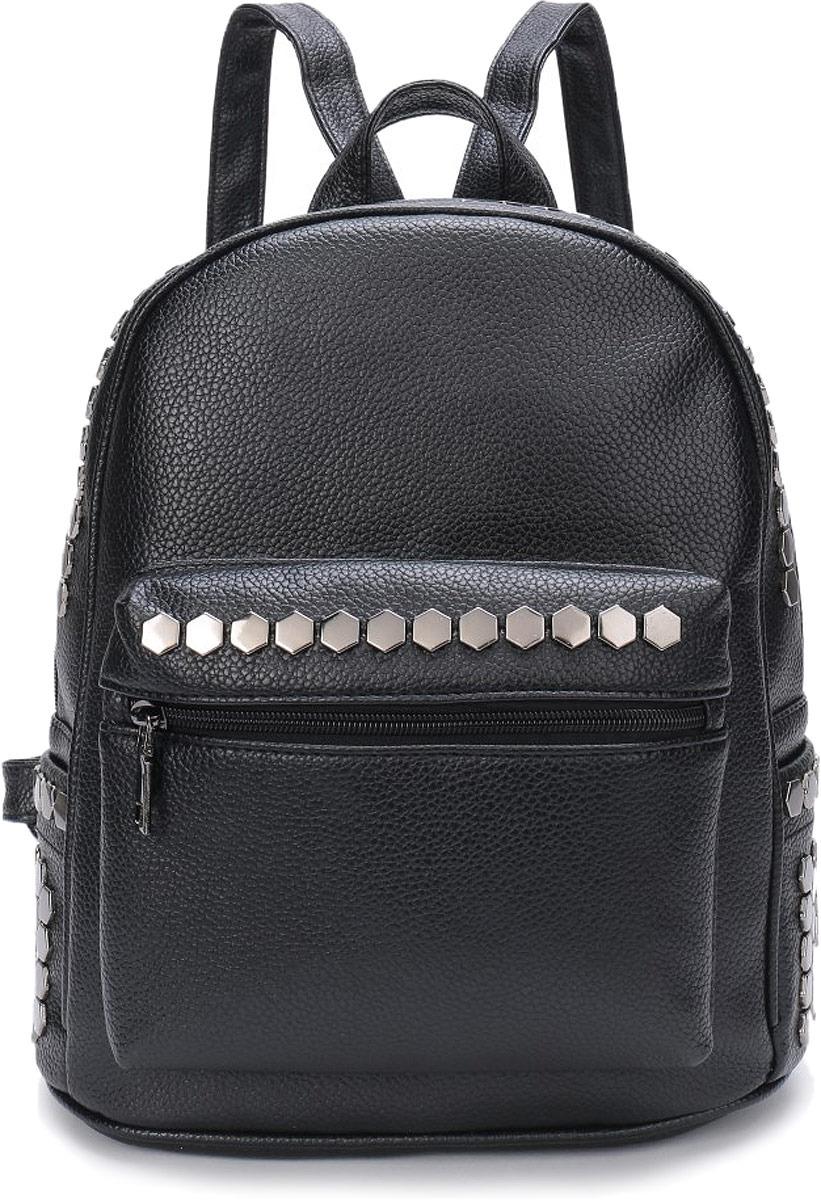 Рюкзак женский OrsOro, цвет: черный. DW-804/1