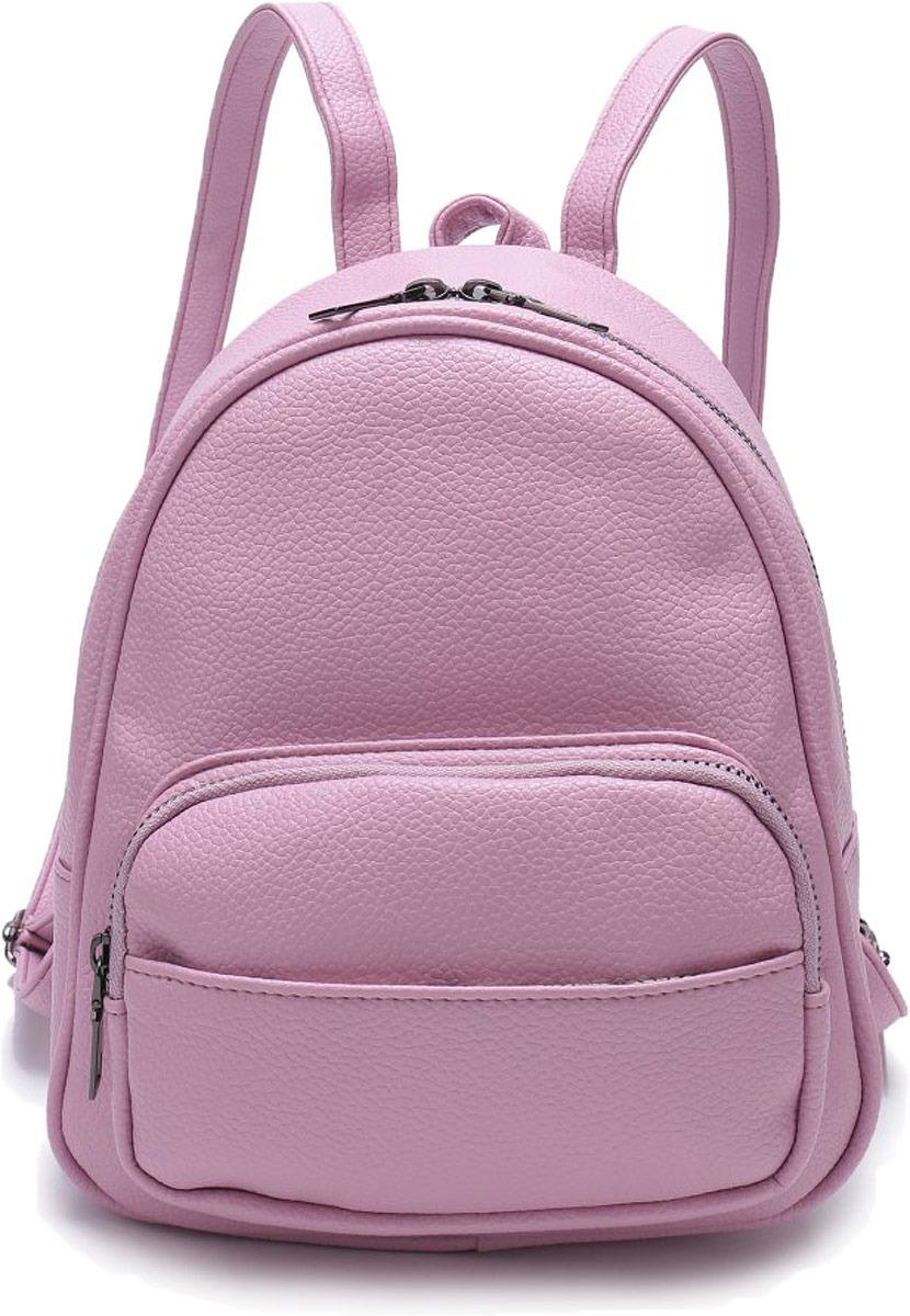 цены Рюкзак женский OrsOro, цвет: палево-розовый. DW-808/3