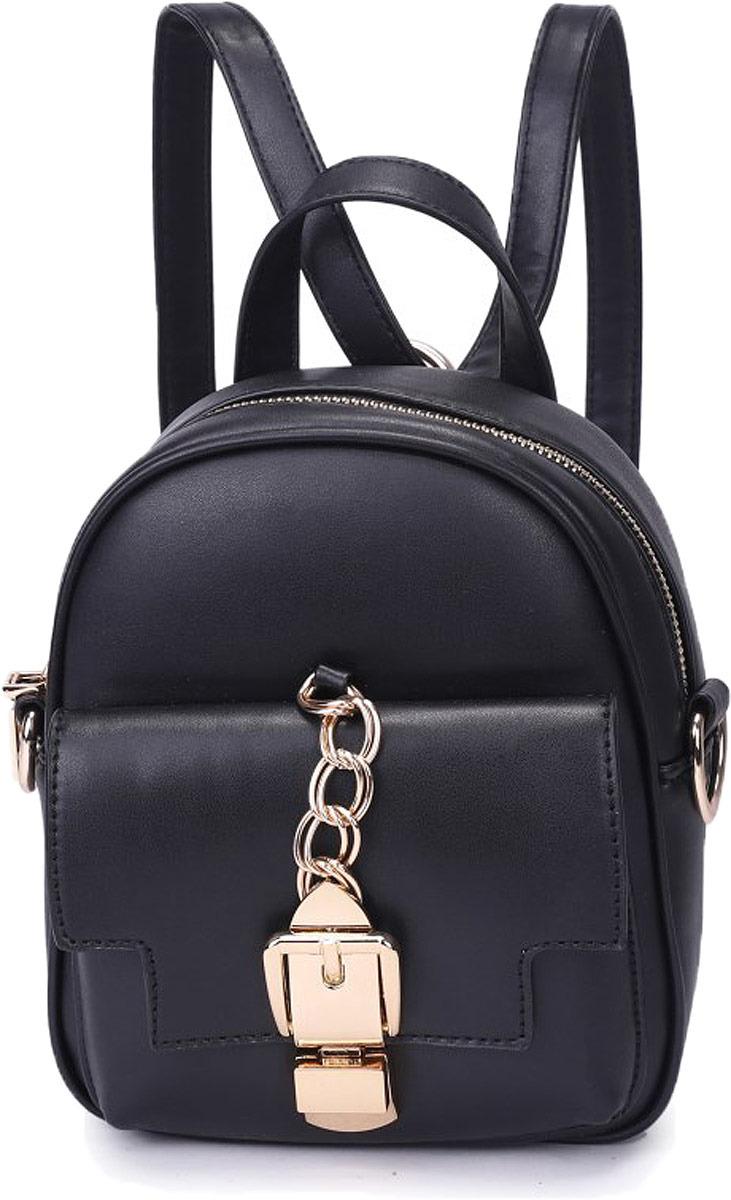 Рюкзак женский OrsOro, цвет: черный. DW-822/1