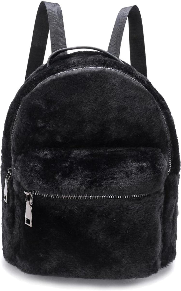 Рюкзак женский OrsOro, цвет: черный. DW-852/1