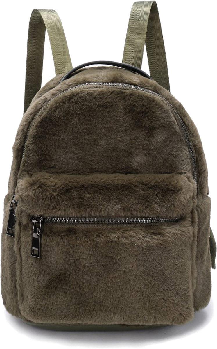 Рюкзак женский OrsOro, цвет: оливковый. DW-852/3