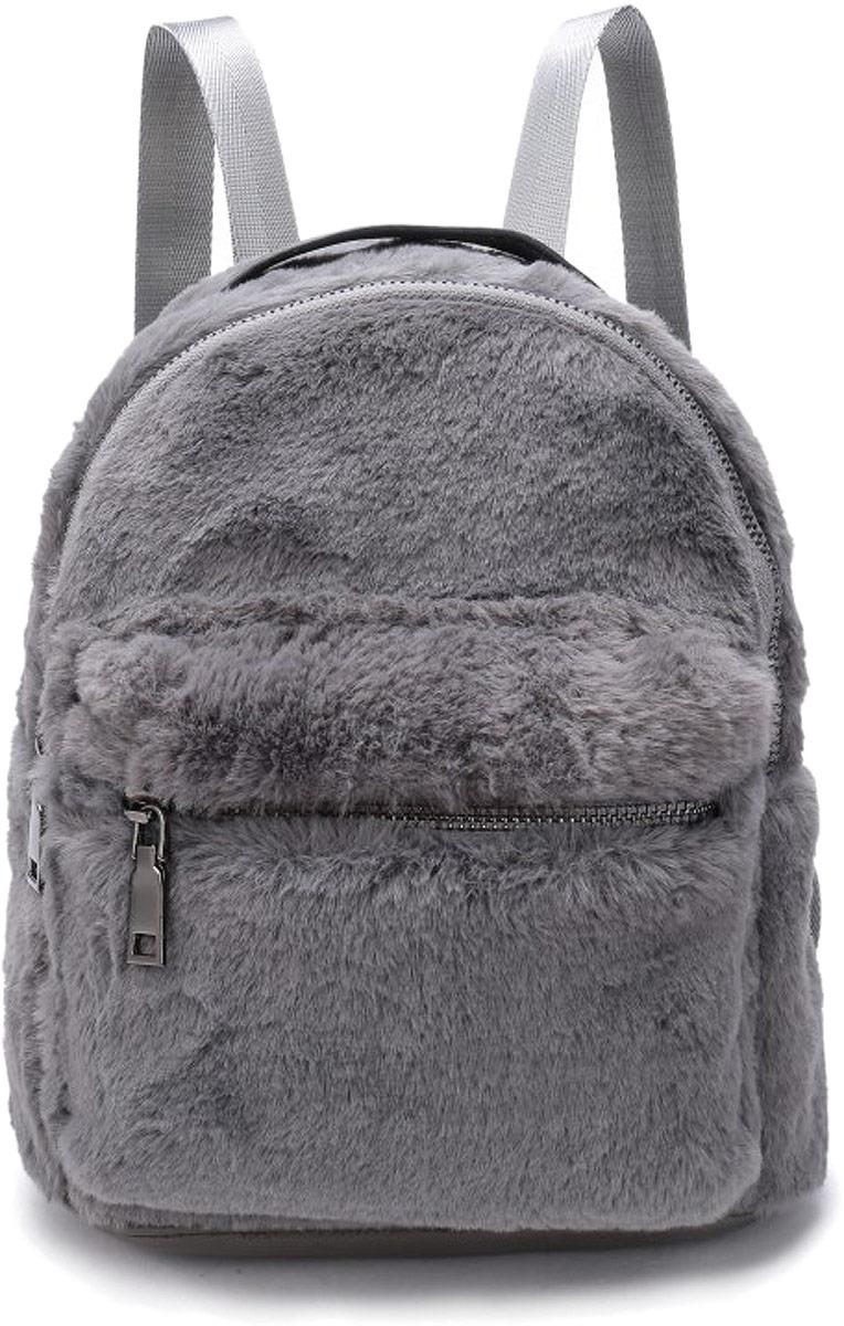 Рюкзак женский OrsOro, цвет: серый. DW-852/4