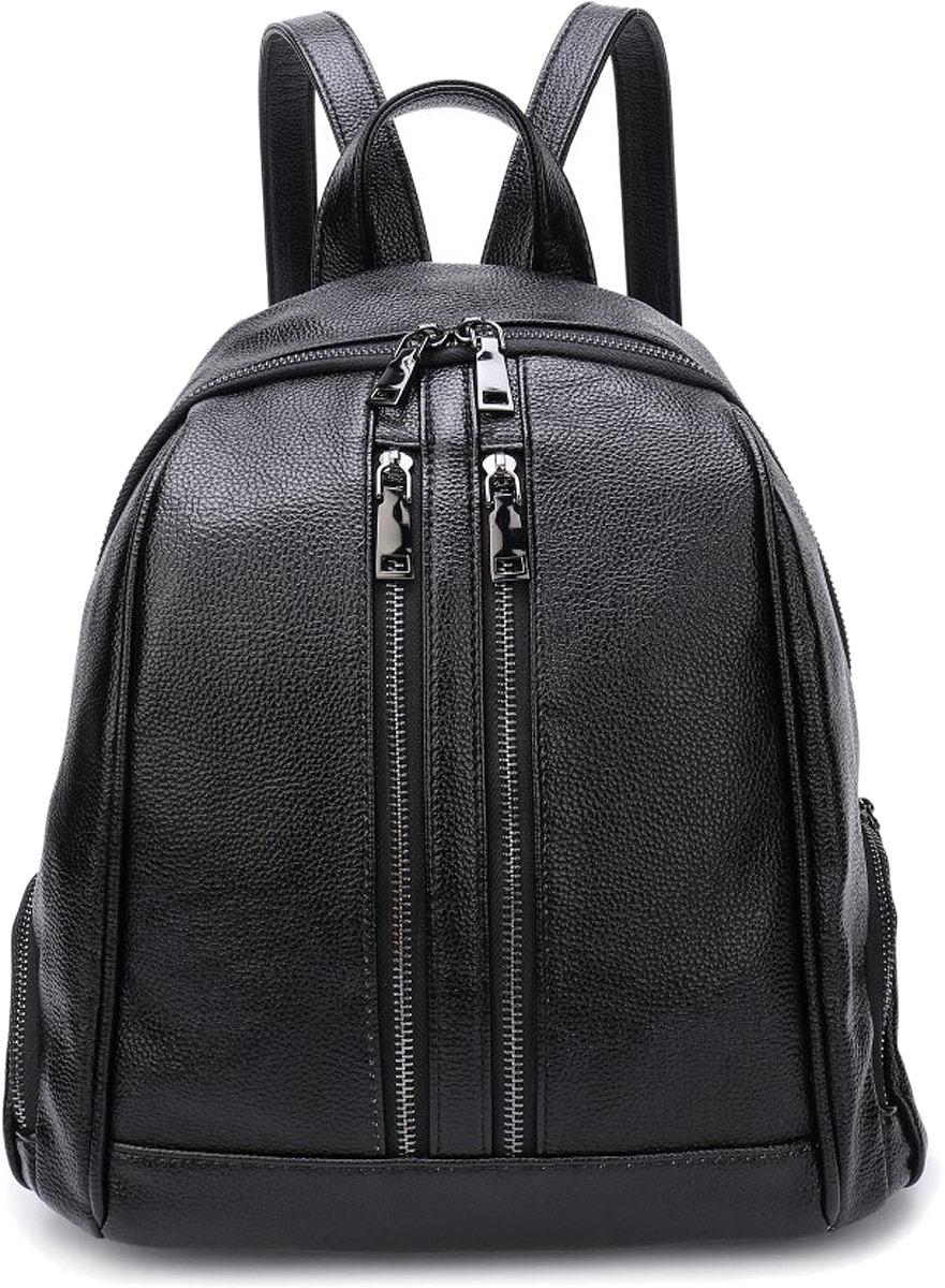 Рюкзак женский OrsOro, цвет: черный. DW-853/1