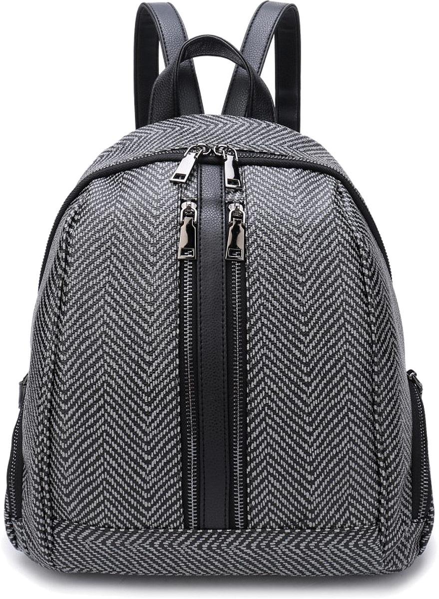 Рюкзак женский OrsOro, цвет: серый рубчик. DW-853/4