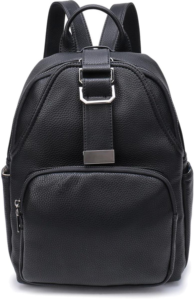 Рюкзак женский OrsOro, цвет: черный. DW-800/1