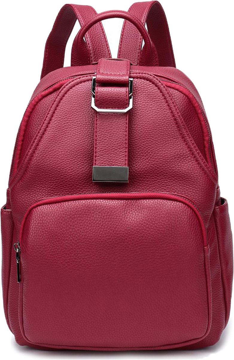 Рюкзак женский OrsOro, цвет: красный. DW-800/2
